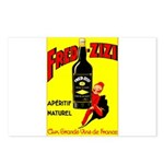 Fred-Zizi Aperitif Postcards (Package of 8)