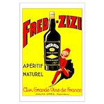 Fred-Zizi Aperitif Poster