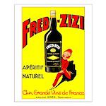Fred-Zizi Aperitif Small Poster