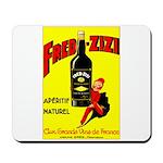 Fred-Zizi Aperitif Mousepad