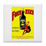 Fred-Zizi Aperitif Tile Coaster
