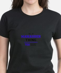 It's MANASSEH thing, you wouldn't understa T-Shirt