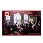 Canadian Sesquicentennial Print Postcards (Package