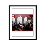 Canadian Sesquicentennial Print Framed Panel Print