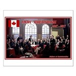 Canadian Sesquicentennial Print Small Poster
