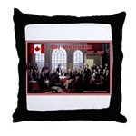 Canadian Sesquicentennial Print Throw Pillow