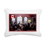 Canadian Sesquicentennial Print Rectangular Canvas