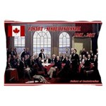 Canadian Sesquicentennial Print Pillow Case