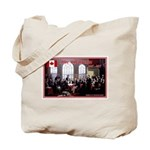 Canadian Sesquicentennial Print Tote Bag