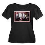 Canadian Sesquicentennial Print Plus Size T-Shirt