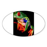 Colorful Frog Sticker