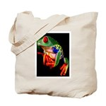 Colorful Frog Tote Bag