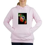 Colorful Frog Women's Hooded Sweatshirt