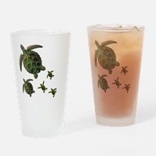 Cute Puerto rica Drinking Glass