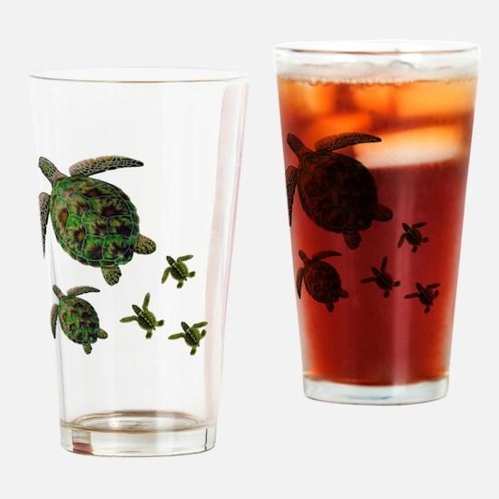 Cute Puerto rico beach Drinking Glass