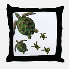 Cute Turks and caicos islands Throw Pillow