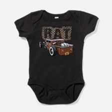 Unique Rat rods Baby Bodysuit