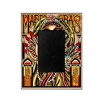 Mardi Gras Mask and Beautiful Woman Picture Frame