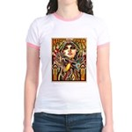 Mardi Gras Mask and Beautiful Woman T-Shirt