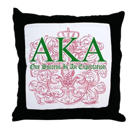AKA Throw Pillow