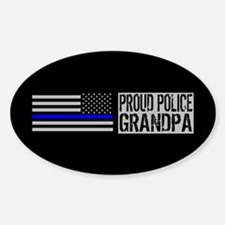 Police: Proud Grandpa (Black Flag, Decal