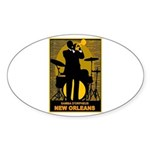 Samba D'Orpheus New Orleans Trumpet Player Sticker