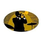 Samba D'Orpheus New Orleans Trumpet Player Decal W
