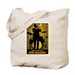 Samba D'Orpheus New Orleans Trumpet Player Tote Ba