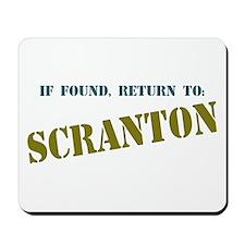 Return To Scranton Mousepad