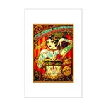 Chapel Tattooed Beautiful Lady Poster Print