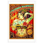 Chapel Tattooed Beautiful Lady Poster