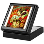 Chapel Tattooed Beautiful Lady Keepsake Box