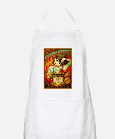 Chapel Tattooed Beautiful Lady Apron