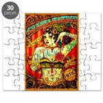 Chapel Tattooed Beautiful Lady Puzzle