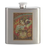 Chapel Tattooed Beautiful Lady Flask