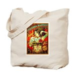 Chapel Tattooed Beautiful Lady Tote Bag