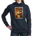 Chapel Tattooed Beautiful Lady Women's Hooded Swea