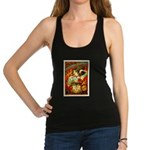 Chapel Tattooed Beautiful Lady Racerback Tank Top