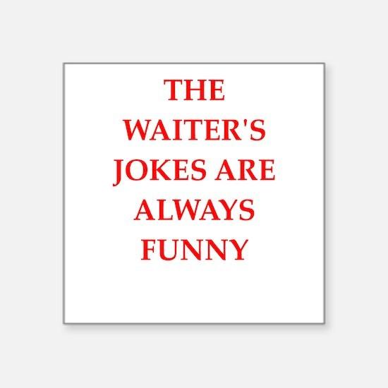 waiter Sticker