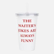 waiter Acrylic Double-wall Tumbler