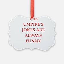 umpire Ornament