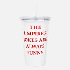 umpire Acrylic Double-wall Tumbler