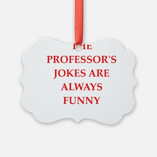 professor Ornament