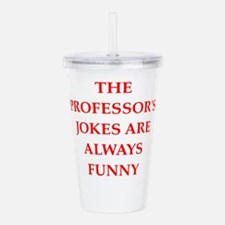 professor Acrylic Double-wall Tumbler