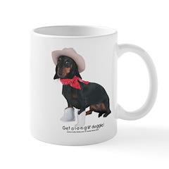 Get a long lil' doggie coffee mug
