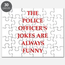 police officer Puzzle