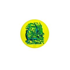 Mock Turtle & Gryphon Mini Button (100 pack)