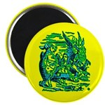Mock Turtle & Gryphon Magnet