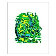 Mock Turtle & Gryphon Posters