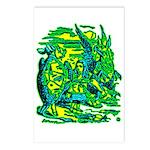 Mock Turtle & Gryphon Postcards (Package of 8)